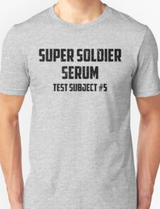 Super Soldier Serum T-Shirt