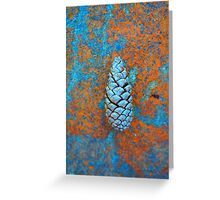 Solo Pine Cone Greeting Card