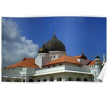 Bright Sky - Malaysian Mosque (1) Poster