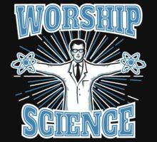 Atheist Science Worship Anti-Religion by TropicalToad