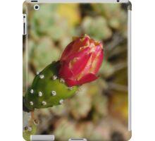 Flowering Cactus  iPad Case/Skin