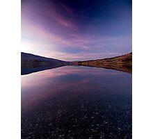 Lake Dunstan Sunset Photographic Print