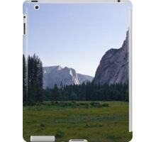 Meadow View in Yosemite 2 iPad Case/Skin