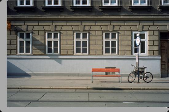 Wiener Straßen - Vienna Streets by Richard McKenzie