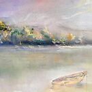 landscape with boat by cicalese653