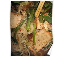 Noodle Soup Thai Style Poster