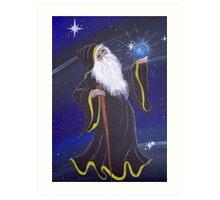 The Wizard.......... Art Print