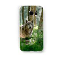 Timberwolf in Forest Samsung Galaxy Case/Skin