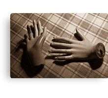 Those hands Canvas Print