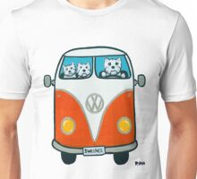Westies in a VW Unisex T-Shirt
