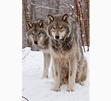 Timber Wolf Pair T-Shirt