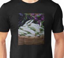 Eggplants on Display Unisex T-Shirt