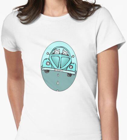 Teal VW Cats T-Shirt