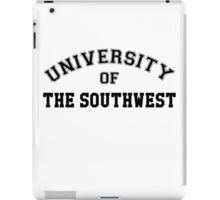 UNIVERSITY OF THE SOUTHWEST iPad Case/Skin