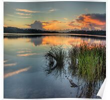 Morning - Narrabeen Lakes, Sydney - The HDR Experience Poster