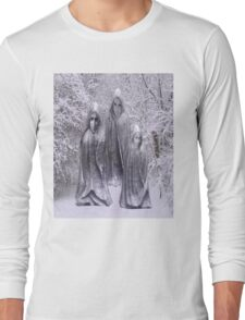 Statues in Winter Long Sleeve T-Shirt