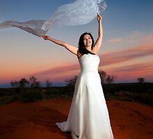 Outback bride by idphotography