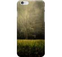 Tree in the Mist iPhone Case/Skin