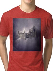 Castle in the Sky Tri-blend T-Shirt