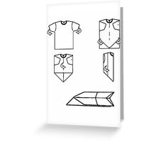 plane-t-shirt Greeting Card