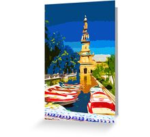Plaza Row Greeting Card