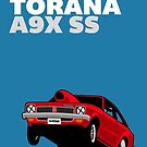 Fortitude's Holden Torana A9X SS Drag by twainf