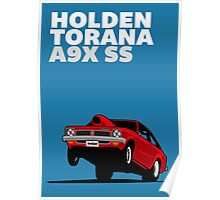 Fortitude's Holden Torana A9X SS Drag Poster