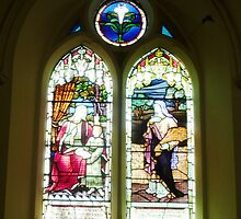 Windows in Holy Trinity Church _ Williamstown by EdsMum