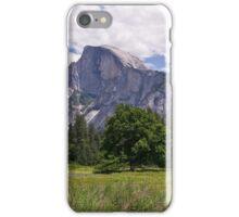 Half Dome above Yosemite Valley iPhone Case/Skin