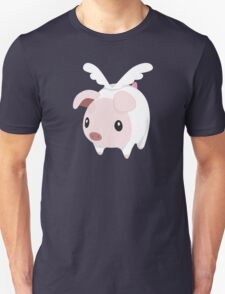 Poogie Piggie Monster Hunter Print T-Shirt