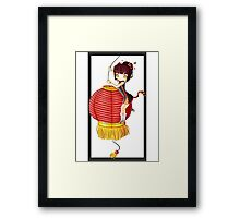 China Tiger Framed Print