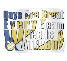 Waterboy Volleyball Poster