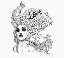Love Always Remains Kids Tee