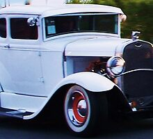 White Ford Coupe by schiabor