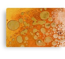Rust coloured abstract Canvas Print