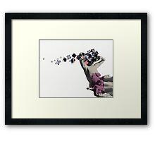 Melody Remedy (for a Digital Affliction) Framed Print