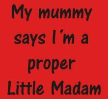 A Proper Little Madam One Piece - Long Sleeve