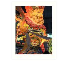 Lotus Lantern Festival Parade Art Print