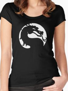 The Mortal Kombat  Women's Fitted Scoop T-Shirt