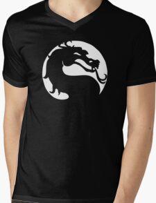 The Mortal Kombat  Mens V-Neck T-Shirt