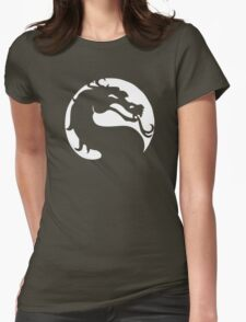 The Mortal Kombat  Womens Fitted T-Shirt
