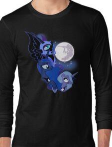 3 Luna Moon Long Sleeve T-Shirt