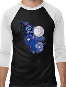 3 Luna Moon Men's Baseball ¾ T-Shirt