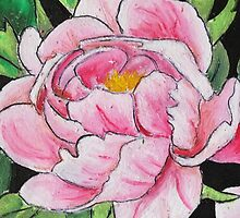 Peony Bloom Detail by SassoJo