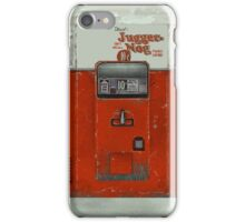 Juggernog machine iPhone Case/Skin