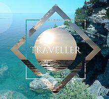 Traveller by dabrasian