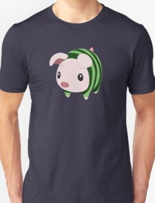 Poogie Piggie Monster Hunter Print Watermelon T-Shirt