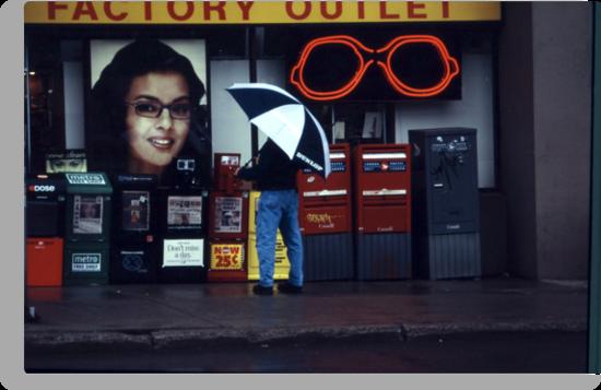 Rainy Day Shopping by Yannik Hay