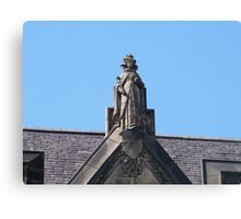 Statue of Mary Queen of Scots Canvas Print