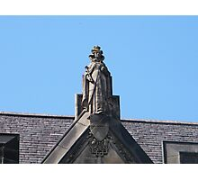 Statue of Mary Queen of Scots Photographic Print